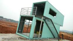 Modernes verlorenes Kosten-haltbares modulares Lager-Haus-vorfabriziertes Haus/Behälter-Haus