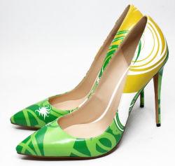 De hete Verkopende Vrouwen kleden Schoenen van de Dames van de Pompen van de Schoenen van de Hiel van Schoenen de Hoge Sexy