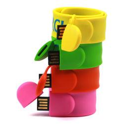 Компания подарки индивидуальные бить браслет флэш-накопитель USB