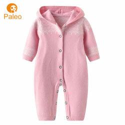 簡潔な赤ん坊の衣服は設計の秋のクリスマスの編み綿の子供の Romper を設計する
