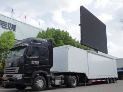P20 Outdoor publicidade em vídeo a cores para o veículo de painéis de LED