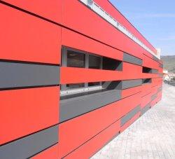 Painéis de parede HPL compacto Placa fenólica de grãos de madeira sólida do Painel da Parede exterior