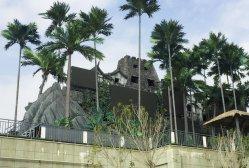 大きい人工的なココヤシの木の夏のプラント屋外の装飾の人工的なプラント