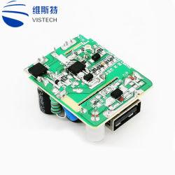 Solo USB teléfono móvil Dual USB Cargador USB Multiuso electrónica PCB de la Junta PCBA