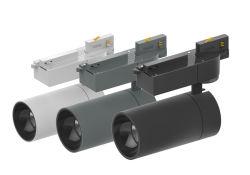 Белый цвет черный 28W регулируемый LED початков потолок в топливораспределительной рампе контакт лампа