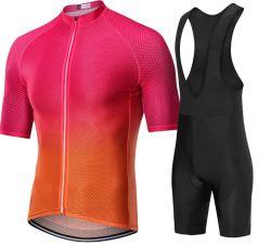 Qualité respirante Short Sleeve Sports Vélo d'usure des vêtements de cyclisme de haute qualité jersey Shirts