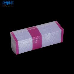 Comercio al por mayor de plástico mate claro personalizado PP/PET/PVC Cosmetic Box (caja de embalaje)