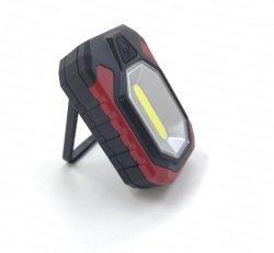 強い磁石が付いている超明るいMultifuction 240lmの穂軸LEDの懐中電燈作業ライト