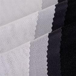 Collar de la camisa de Fusible Shrink-Resistant tela tejida tejido circular de entretela