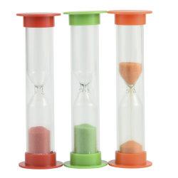 La arena Juego de vidrio de reloj de arena de cocina
