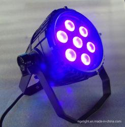 De Disco Stage High Power LED UVPAR Can Light LED Black Party Light van DJ voor Events