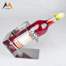 Rek het van uitstekende kwaliteit van de Vertoning van de Alcoholische drank van de Wijn van de Vorm van de Golf van de Douane