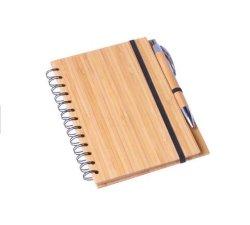 Ordinateur portable personnalisé spirale Eco recycler le papier avec un stylo