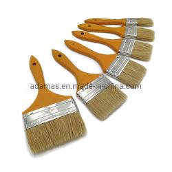 Brocha de cerdas puro con mango de madera 31211 Herramienta de mano
