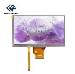 Rg-T800miwn-01p Ronen personalizado para la compañía más barata de 8 pulgadas de 800*480 de resolución LCD TFT módulo de visualización