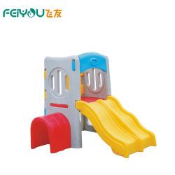 Les enfants préscolaires Play House avec toboggan/terrain de jeux intérieur/petite aire de jeux