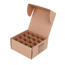 Пользовательский формат печати коричневого цвета 5-слойные гофрированный картон вставки транспортные Kraft картонной упаковке бумаги светодиодные лампы