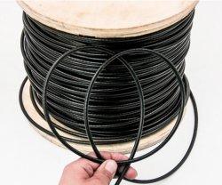 Corda rivestita 7X7 7X19 6mm del filo di acciaio della corda vinile/del nylon