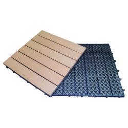 Le WPC DIY Deck tuiles, facilement installé et écologique