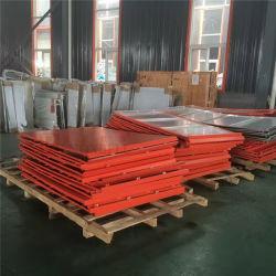 Pannelli di rivestimento di alluminio rivestiti arancioni di colore PVDF per la facciata