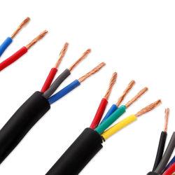 XLPE isolierte Belüftung-Hüllen-Niederspannungs-450/750V abgeschirmten Seilzug Zr-Kvv Kvvp kupferner Leiter angeschwemmten flexiblen elektrisches Kabel-elektrischen Draht