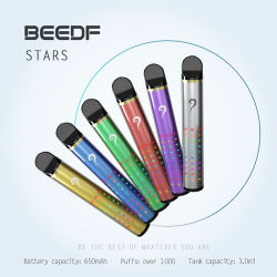 Prellenado mayorista Vape Pod Ecigs desechables Beedf Star Mini cigarrillo E
