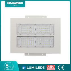 Lâmpada da marquise de LED de exterior 50W 80W 100W 120W 150W 200W montados rebaixada para a estação de gás de gasolina