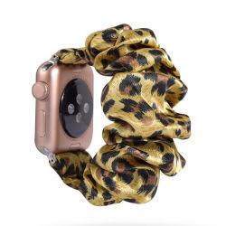 Para Apple Ver accesorios de la banda de reloj para dama Apple Scrunchie estrecha banda de muñeca fina para Apple Watch Venta caliente