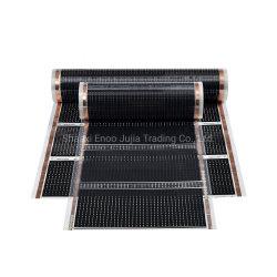 Plancher chauffant électrique CTP à infrarouge lointain du Film de chauffage en fibre de carbone
