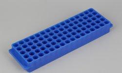 Microcentrifugeuse Racks de tube pour la tenue de 1,5 ml ou 2 ml microtubes à centrifuger, 81 puits, Non-Sterile, CE, certifiée ISO