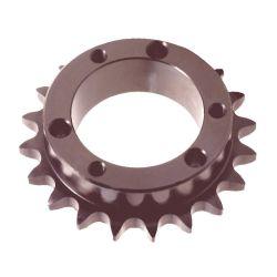 Les pignons de blocage conique pour kit de moto avec sans clé de la norme ANSI 1/4 Pitch léger dent de la chaîne à rouleaux Speed Bike Scooter électrique du convoyeur du pignon de roue libre
