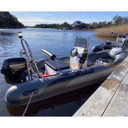 Liya 2.7-5.2m barco de alumínio Resuce Costela de alumínio barcos infláveis barco de pesca de água do rio para venda
