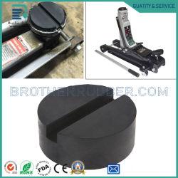 Aanpasbare universele railbeschermer met sleuven rubberen steunblok Blok het zwarte rubberen stootblok in