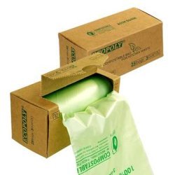 Tシャツ生物分解性袋Compostable袋の生物ごみ袋のごみ袋
