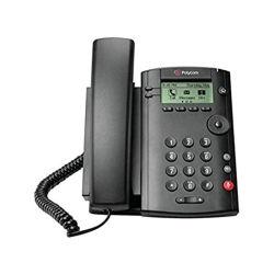 هاتف مكتبي مزود بخط واحد يعتمد عليه بسعر مناسب من Polycom هاتف VVX 101 للشركات عبر الوسائط Polycom VVX 101 للشركات الهاتف