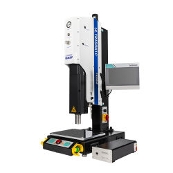 آلة لحام بالموجات فوق الصوتية ممتازة بقوة 3000 كيلو هرتز مع طاولة قياسية