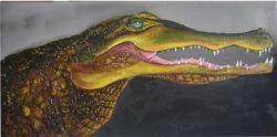 Peinture d'huile d'animaux (SF1-4)