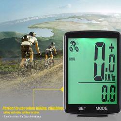 LCD表示が付いている無線自転車の速度計および走行距離計の無線防水サイクルのバイクのコンピュータ