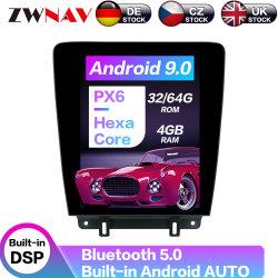 GPS de coche reproductor de DVD Radio Tesla para Ford Mustang 2010 2011 2012 2013 2014 Android Reproductor multimedia de la unidad de cabeza estéreo de auto WiFi