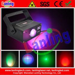 3-en-1 RGB 9W Mini Luz estroboscópica LED de interior