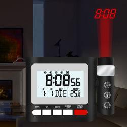 工場USB充満を用いる原子投射の目覚し時計