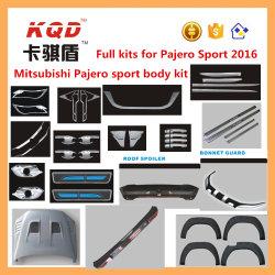 Full Kits für Pajero Full Chrome Body Kit beenden für Mitsubishi Pajero Accessories Montero Sport Plastic 2016 Chrome Full Body Kit