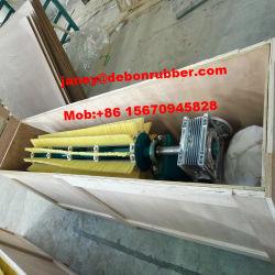 Rouleau en nylon Courroie du convoyeur rotatif de filtre à la brosse de nettoyage