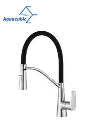Выдвижной высокой Quaility соответствует стандарту NSF61+NSF372 Кухня под струей горячей воды (AF6089-5)