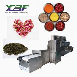 El polvo de cebolla totalmente automática / máquina de secado Deshidratación de microondas y horno microondas