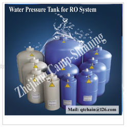 RO System/ROシステム水貯蔵タンク3.2g 11gの携帯用天然水フィルタータンクSupplier/3.2g水圧の容器