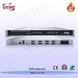 8 en 1 MPEG-4 AVC/H. 264 HD encodeur