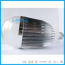 21W E27/B22/E14 алюминиевых глобус светодиодная лампа освещения