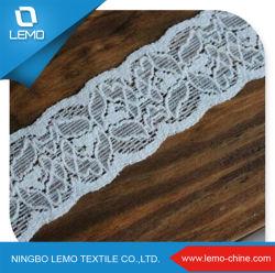 Tessuto Elasticizzato In Cotone A Crochet/Tricot Lace