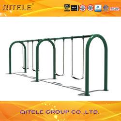 Bambini, in acciaio zincato, per esterni, oscillazione in metallo per parco divertimenti (QTL-3606)